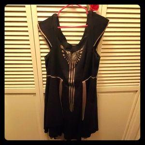 Torrid Size 20 Fantastic Beasts Off Shoulder Dress
